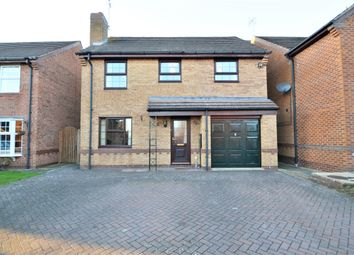 Thumbnail 4 bed detached house for sale in Sorrel Drive, Boughton Vale, Rugby