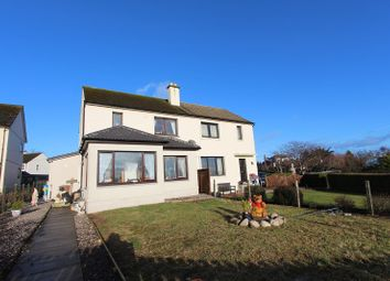 Thumbnail 3 bed semi-detached house for sale in 11 Gollanhead Avenue, Rosemarkie, Fortrose, Black Isle.