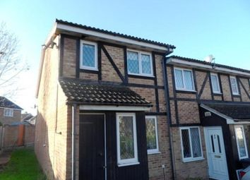 Thumbnail 1 bed end terrace house to rent in St Nicholas Court, Basingstoke