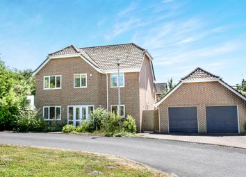 Thumbnail 4 bed detached house for sale in St Edwards Meadow, Winterbourne Dauntsey, Salisbury