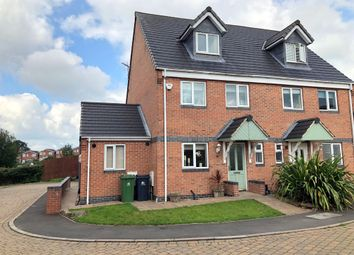 Thumbnail 4 bed semi-detached house for sale in Colliers Court, Waingroves, Ripley