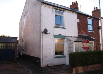 Thumbnail 2 bed semi-detached house to rent in Church Street, Chadsmoor, Cannock