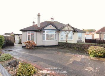 Thumbnail 3 bed semi-detached bungalow for sale in St. Marys Drive, Rhyl