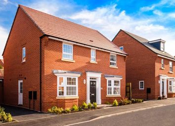 "Thumbnail 4 bedroom detached house for sale in ""Bradgate"" at Fleckney Road, Kibworth, Leicester"