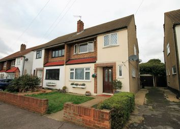 Thumbnail 3 bed semi-detached house to rent in Manor Close, Romford