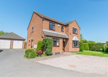 Thumbnail 5 bed detached house for sale in Leicester Road, Fleckney