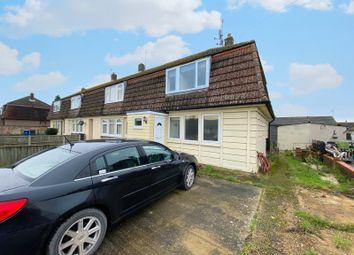 Thumbnail 3 bed semi-detached house for sale in Bunbury Avenue, Mildenhall, Bury St. Edmunds