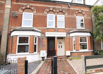 Thumbnail 1 bed terraced house for sale in Gainsborough Road, Felixstowe