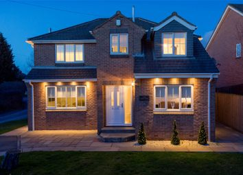 Thumbnail 4 bed detached house for sale in Lee Court, Whitley, Goole