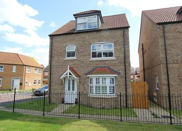 Thumbnail 4 bed detached house for sale in Saunders Close, Caistor, Market Rasen, Lincolnshire
