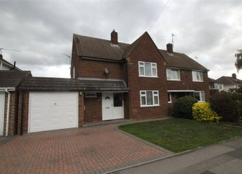 Thumbnail 3 bed semi-detached house for sale in Haddon Drive, Woodley, Reading, Berkshire