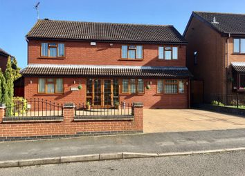 Thumbnail 4 bed detached house for sale in Rainsbrook Drive, Nuneaton