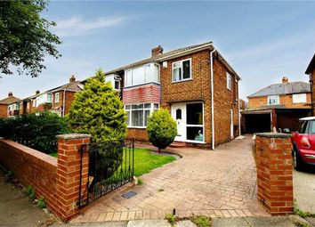 Thumbnail 3 bed semi-detached house for sale in Whitwell Road, Darlington, Durham