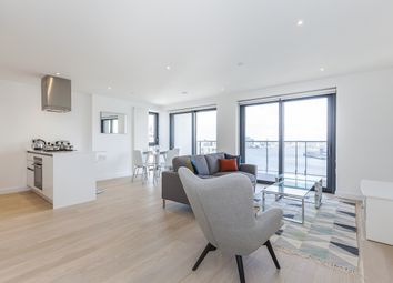 Thumbnail 3 bedroom flat to rent in Horizons Tower, Yabsley Street, London