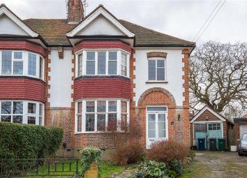 Thumbnail 3 bedroom semi-detached house for sale in Singleton Scarp, Woodside Park, London