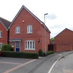 Thumbnail 3 bed detached house for sale in George Smith Drive, Coalville