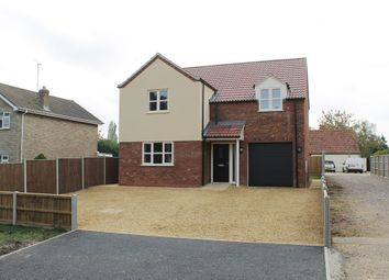 Thumbnail 4 bedroom detached house for sale in Church Road, Clenchwarton, King's Lynn