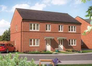 "Thumbnail 3 bedroom semi-detached house for sale in ""The Hazel"" at Marsh Lane, Nantwich"