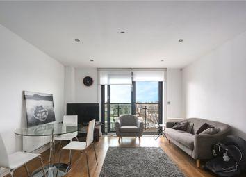 Thumbnail 1 bed flat to rent in Craig Tower, 1 Aqua Vista Square, London