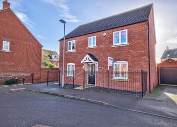 Thumbnail 4 bed detached house for sale in Laxton Way, Bedford
