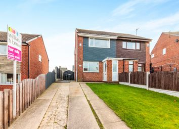 Thumbnail 2 bed semi-detached house for sale in Chapelfield Drive, Thorpe Hesley, Rotherham