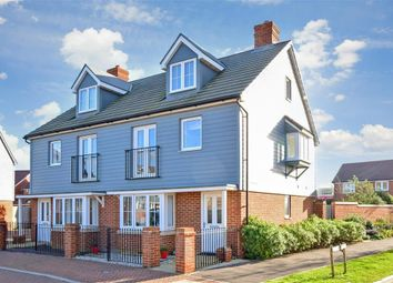 Thumbnail 3 bed semi-detached house for sale in Coleridge Crescent, Littlehampton, West Sussex