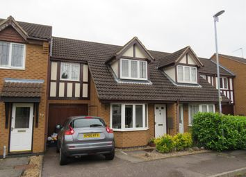 Thumbnail 3 bed terraced house for sale in Aldwell Close, Wootton, Northampton