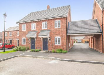 Thumbnail 2 bed semi-detached house for sale in Baker Drive, Kempston