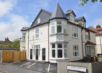 Thumbnail 2 bed flat to rent in St James Road, Sutton, Surrey