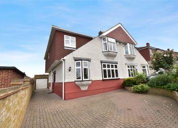 Thumbnail 4 bed semi-detached house for sale in Stanham Road, Dartford, Kent