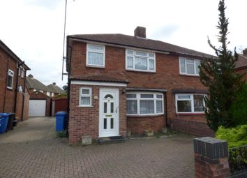 Thumbnail 3 bedroom semi-detached house to rent in Cedarcroft Road, Ipswich
