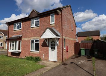 Thumbnail 2 bed semi-detached house for sale in St. Nicholas Close, Long Stratton, Norwich