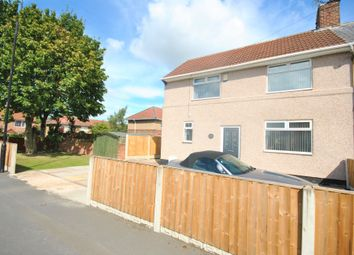 Thumbnail 3 bed end terrace house for sale in First Avenue, Woodlands, Doncaster