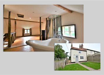 Thumbnail 1 bed semi-detached house to rent in Birchfield Road, Nordelph, Downham Market