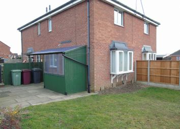 Thumbnail 1 bed terraced house to rent in Larchdale Close, Broadmeadows, Derbyshire