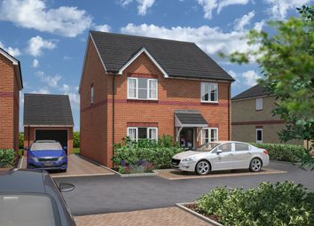 Thumbnail 4 bed detached house for sale in Rook Tree Fields, Stotfold