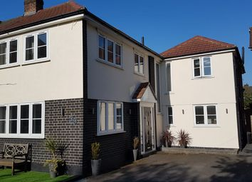 Thumbnail 4 bed semi-detached house for sale in Oxford Avenue, Hornchurch