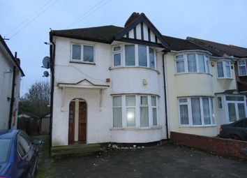 Thumbnail 1 bed flat for sale in Grove Way, Wembley