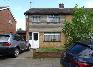 Thumbnail 3 bed semi-detached house to rent in Carlsdale Close, Luton