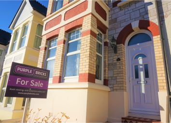 Thumbnail 2 bedroom terraced house for sale in Torr View Avenue, Plymouth