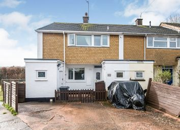 Thumbnail 3 bed end terrace house for sale in Orchard Way, Cullompton
