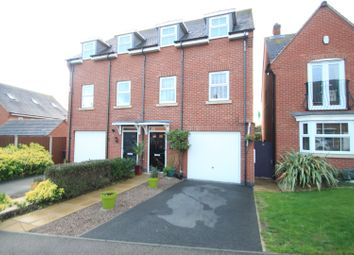 Thumbnail 3 bed semi-detached house for sale in Oaklands Drive, Earl Shilton, Leicester