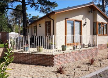 Thumbnail 2 bedroom mobile/park home for sale in Monterey Close, Ferndown