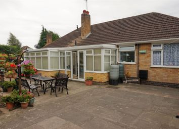 Thumbnail 3 bed bungalow for sale in Nursery Close, Leicester