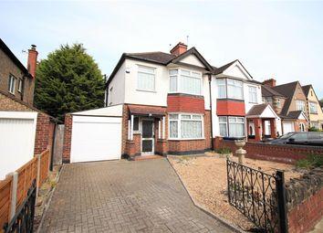 Thumbnail 3 bed semi-detached house for sale in Manston Avenue, Norwood Green