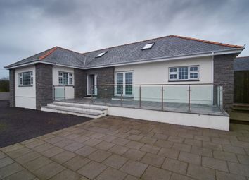 Thumbnail 3 bed detached bungalow for sale in Llangwnadl, Pwllheli