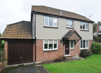 Thumbnail 3 bed detached house for sale in Waldon Close, Plympton, Plymouth