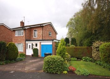 Thumbnail 3 bed detached house for sale in Newbold Way, Nantwich