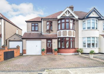 Thumbnail 3 bed semi-detached house for sale in Harlow Road, Rainham