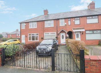 Thumbnail 3 bed terraced house for sale in Clough Road, Manchester